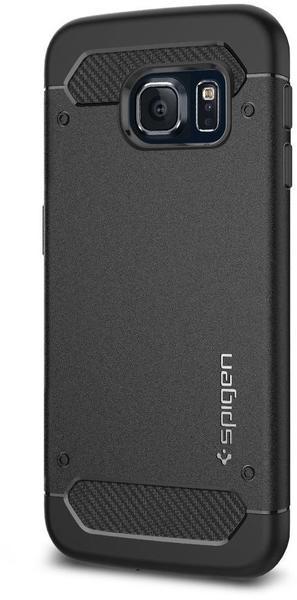 Spigen Galaxy S6 Edge Case, Capsule Ultra Rugged Bl