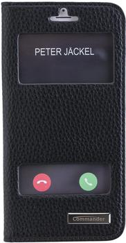 Peter Jäckel COMMANDER DOUBLE WINDOW Black iPhone 7