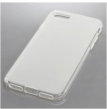 König-Shop BackCase für Apple iPhone 7 aus flexiblem TPU, transparent