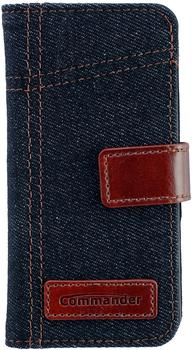 Peter Jäckel COMMANDER BOOK CASE ELITE Jeans, iPhone 5/5S