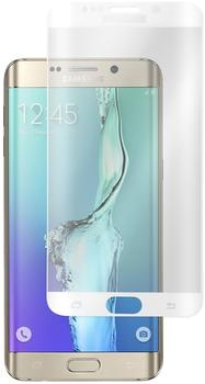 PhoneNatic 1 x Samsung Galaxy S6 Edge Plus Glas-Displayschutzfolie klar weiß