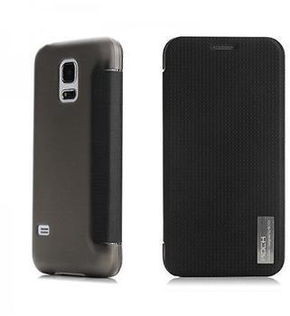 ROCK Original ROCK Smartcover Schwarz für Samsung Galaxy S5 Mini G800 F A H Case Neu