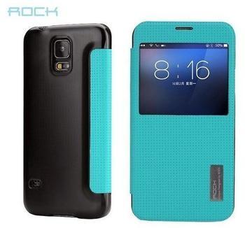 ROCK Original ROCK Smartcover Blau für Samsung Galaxy S5
