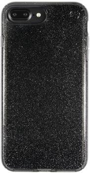 Speck HardCase PRESIDIO iPhone (7) Plus Clear Glitter Onyx Black schwarz