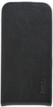 carstyling XXL 2GO Flip-Case für Samsung Galaxy S7 Edge Leder schneller Versand innerhalb 24 Stunden