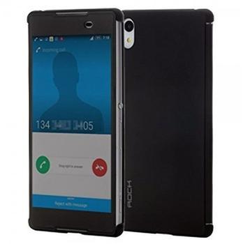 ROCK Shadow Smartcover Schwarz für Sony Xperia Z3 Plus E6553 und Dual