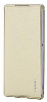 ROCK Original Rock Smartcover Gold für Sony Xperia Z3 Plus ( + ) E6553 Dual