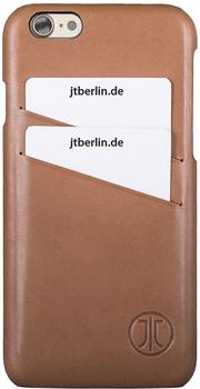 JT Berlin Handytasche [Echtleder Leather Cover Style für Apple iPhone 7 braun