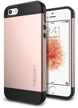 spigen-slim-armor-for-iphone-5-5s-se-rose-gold-colored