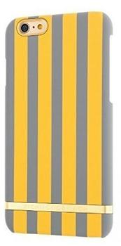 Richmond & Finch Mustard Stripes for iPhone 7 gelb