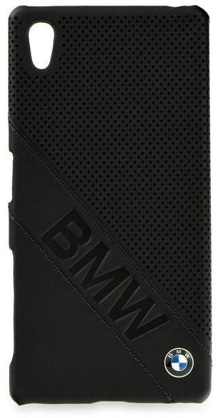 BMW Handy-Schutzhülle Flip case Schwarz