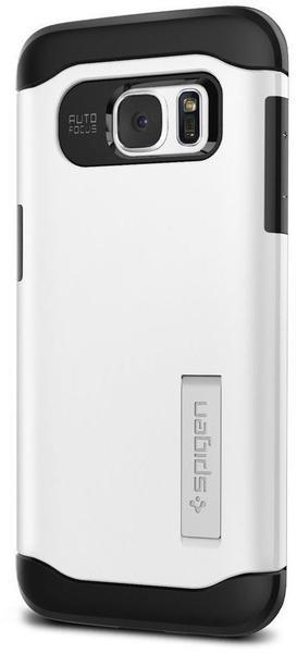 Spigen Slim Armor Case (Galaxy S7 edge) Shimmery White