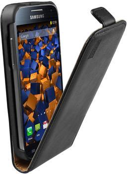 Mumbi Flip Case schwarz (Samsung Galaxy S4 mini)