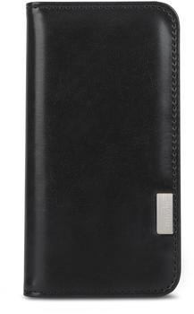 Moshi 99MO091001 Overture Wallet Flip-Hülle für Mobiltelefon Polycarbonat, Kunstleder Charcoal Black