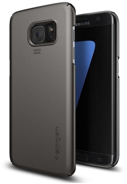 Spigen Thin Fit Case (Galaxy S7 edge) Gunmetal