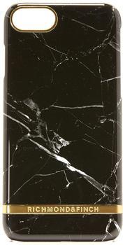Richmond & Finch Marble Glossy Schutzhülle für iPhone 7schwarz