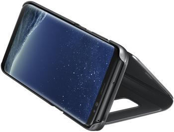 Samsung Clear View Standing Cover (Galaxy S8) schwarz