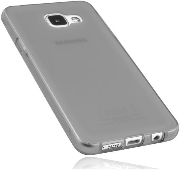 mumbi TPU Hülle schwarz transparent für Samsung Galaxy A3 (2016)