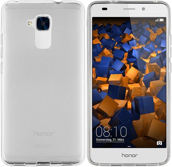 mumbi TPU Hülle weiß transparent für Huawei Honor 5C