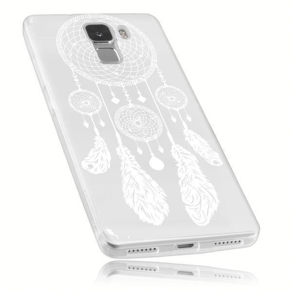 mumbi TPU Hülle transparent Motiv Traumfänger für Huawei Honor 7