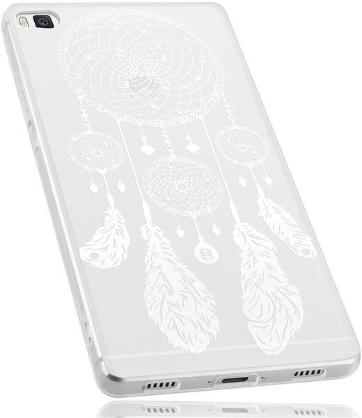 mumbi TPU Hülle transparent Motiv Traumfänger für Huawei P8