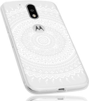 mumbi TPU Hülle transparent Motiv Mandala für Lenovo Moto G4G4 Plus