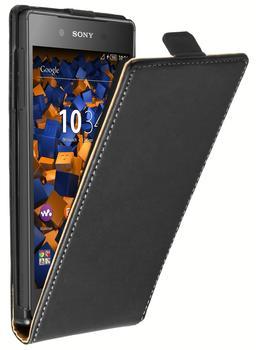 Mumbi Flip Case Sony Xperia Z5 schwarz