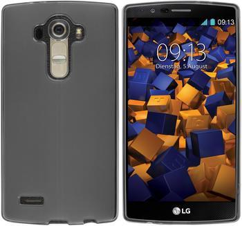 mumbi TPU Hülle transparent schwarz für LG G4