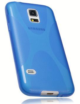 Mumbi X-TPU (Galaxy S5 mini) blau