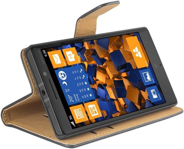 mumbi Tasche Bookstyle für Nokia Lumia 930