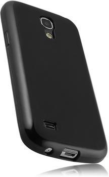 Mumbi Schutzhülle matt schwarz (Galaxy S4 mini)