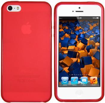 Mumbi TPU Silikon Schutzhülle (iPhone SE/5/5S) rot