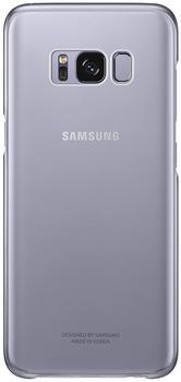 Samsung Clear Cover (Galaxy S8) violett