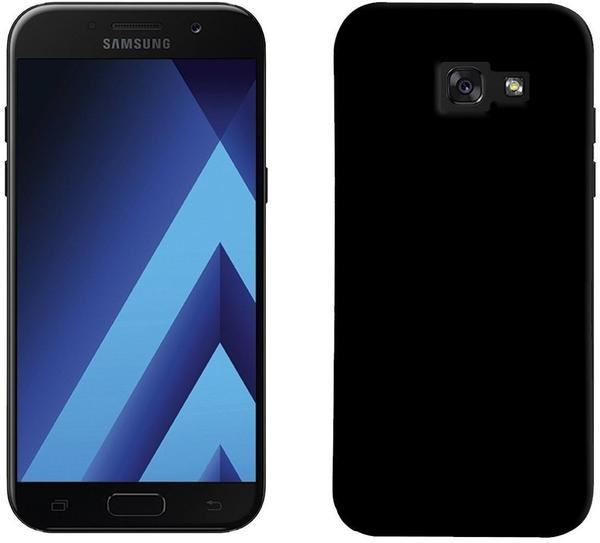PEDEA Soft TPU Case (glatt) für Samsung Galaxy A3 2017 Schwarz