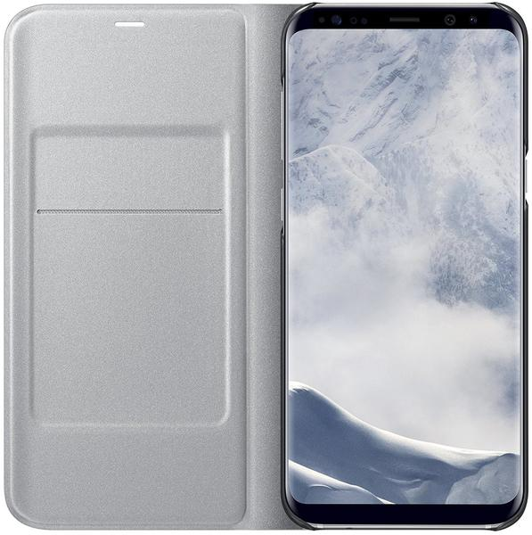 Samsung LED View Cover (Galaxy S8+) silber