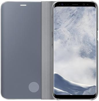 Samsung Clear View Standing Cover (Galaxy S8) silber