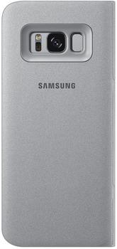 Samsung LED View Cover (Galaxy S8) silber