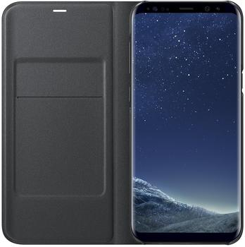 Samsung LED View Cover (Galaxy S8+) schwarz