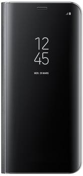 Samsung Clear View Standing Cover (Galaxy S8+) schwarz