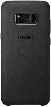 Samsung Alcantara Cover (Galaxy S8) grau