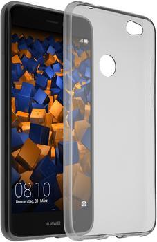 mumbi TPU Hülle Ultra Slim schwarz transparent für Huawei P8 Lite 2017