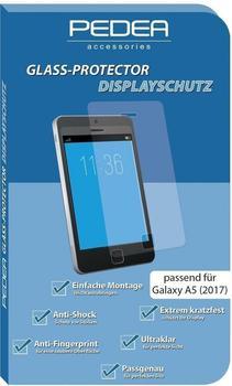 PEDEA Flip Classic + Glasschutzfolie f. Galaxy A5 2017 Schwarz