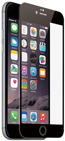 KMP Protective Glass Display-Schutzfolie für iPhone 6/6s schwarz