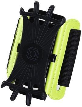 """Hama Twist Smartphones 4,0-5,5"""" (Schwarz, Gelb)"""