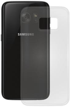 PEDEA Soft TPU Case (glatt) für Galaxy A3 2017, Transparent