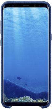 Samsung Alcantara Cover (Galaxy S8+) blau