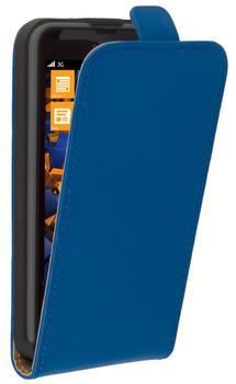 mumbi Flip Case Tasche blau für Nokia Lumia 630635