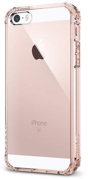 Spigen Case Shell (iPhone SE/5S/5) crystal rose