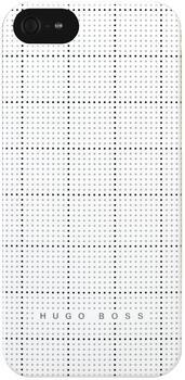Hugo Boss Squares Hardcover weiß (iPhone 5)