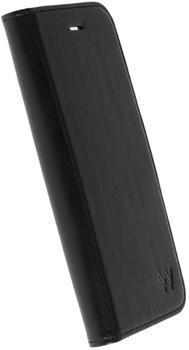 Krusell Icon 3 Card FolioCase für Sony Xperia XA1, Schwarz